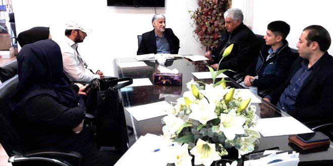 جلسه شورای دانشجویی دانشگاه علمی کاربردی شهرداری ورامین برگزار شد+تصاویر