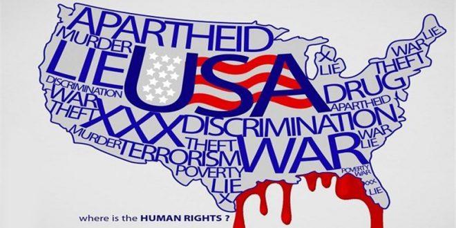 نتیجه مسابقه هفته حقوق بشر آمریکایی