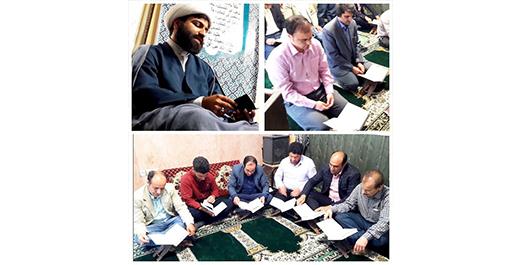 اجرای طرح دوشنبه های قرآنی دانشگاه در نمازخانه دانشگاه علمی کاربردی شهرداری ورامین